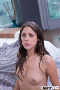 Tushy Anna Morna in Beautiful Natural Brunette Tries Anal with Mick Blue 20
