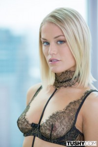 Tushy Ash Hollywood in Sexy Blonde Escort Gives up her Ass for her Client with Chris Stokes 2