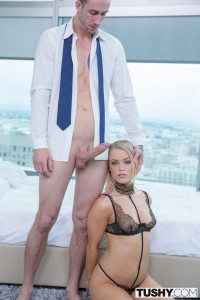Tushy Ash Hollywood in Sexy Blonde Escort Gives up her Ass for her Client with Chris Stokes 6