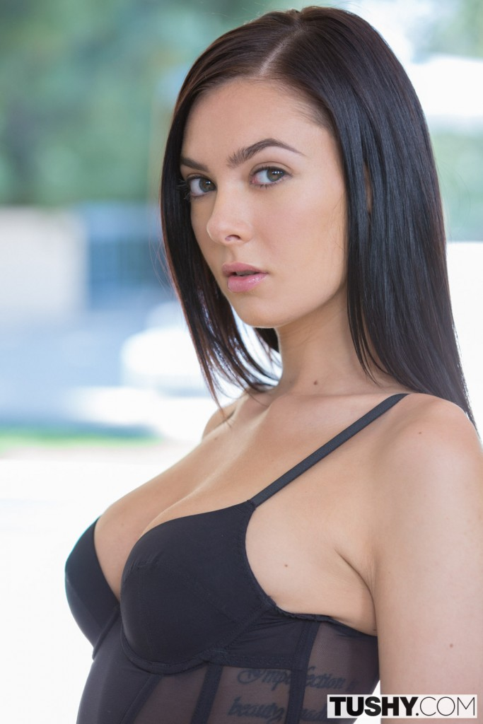 image His girlfriend beautiful blue eyes fucked by monster cock