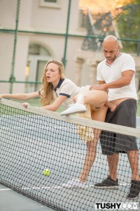 Tushy Aubrey Star in Tennis Student Gets Anal Lesson with Christian Clay 3