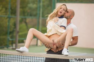 Tushy Aubrey Star in Tennis Student Gets Anal Lesson with Christian Clay 4