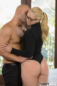 Tushy Aj Applegate in Curvy Secretary Punished by Her Boss with Christian Clay 5