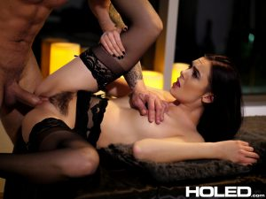 Holed Marley Brinx in Hot Wax Anal 14