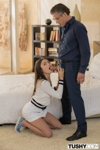 Tushy Adria Rae in College Student Gets Punished by Professor with Mick Blue 7
