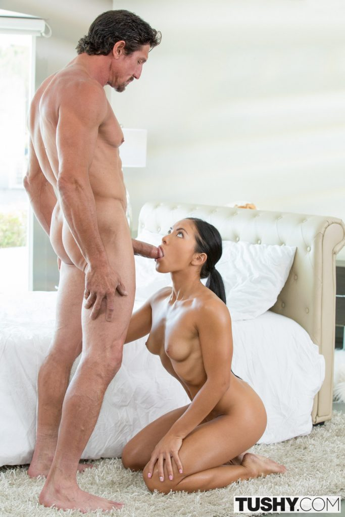 Tushy personal trainer loves anal with asian wife 9
