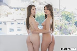 Tushy Jojo Kiss & Joseline Kelly in Two Students Charm Teacher  with Mick Blue 7