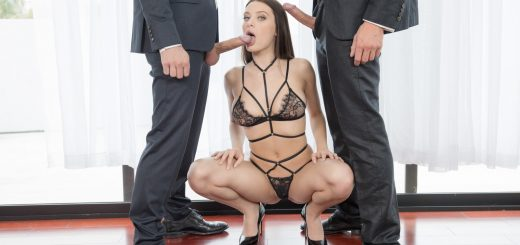 Tushy Lana Rhoades in Lana Part 5 with Jean Val Jean & Mick Blue 4
